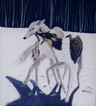 1987 THE BORZOI ANNUAL No. 4 Dog LIMITED EDITION No. 23 of 500 Russian Wolfhound